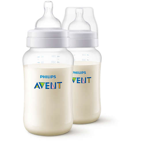 Philips Avent Classic+ Twin Baby Bottle 11oz/330ml SCF566/27