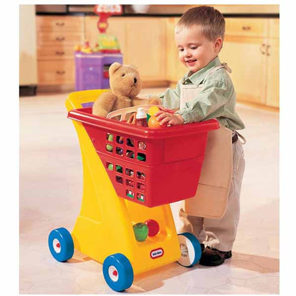 Little Tikes SHOPPING CART - PRIMARY - Little Baby