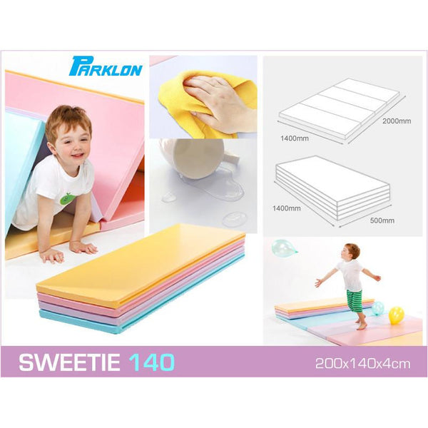 Parklon 3 Space Folder Mat - Sweetie 140 - Little Baby Singapore - 1