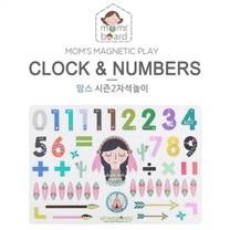 Momsboard Magnetic Words – Clock & Numbers