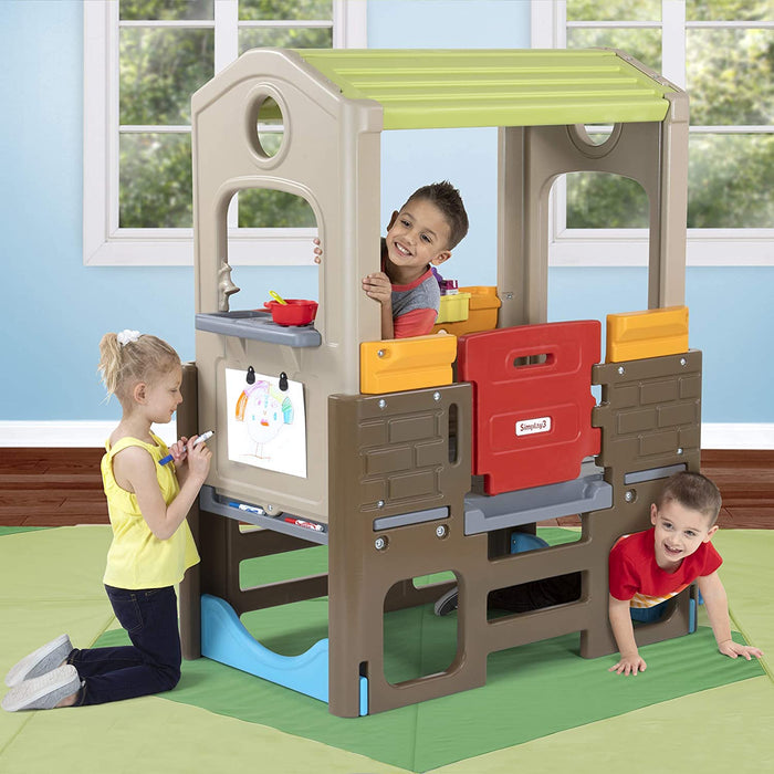 Simplay3 Young Explorers Indoor/Outdoor Discovery Playhouse