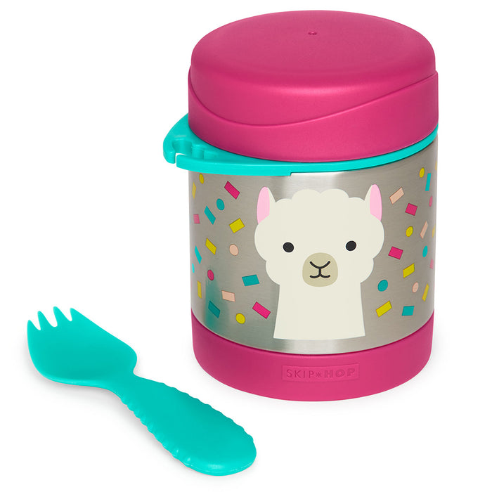 Skip Hop Zoo Insulated Food Jar - Llama