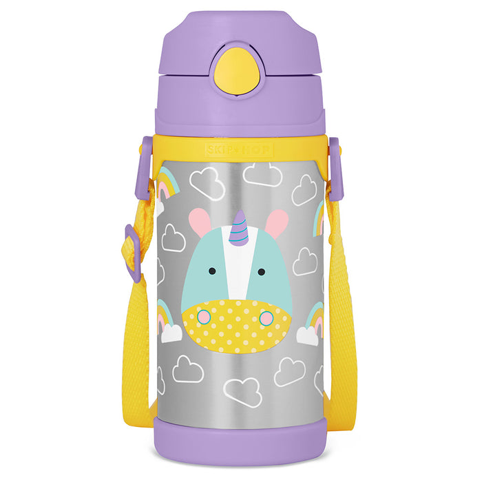 Skip Hop Zoo Insulated Stainless Steel Bottle - Unicorn