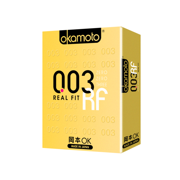 Okamoto Condoms 003 Real Fit 4s