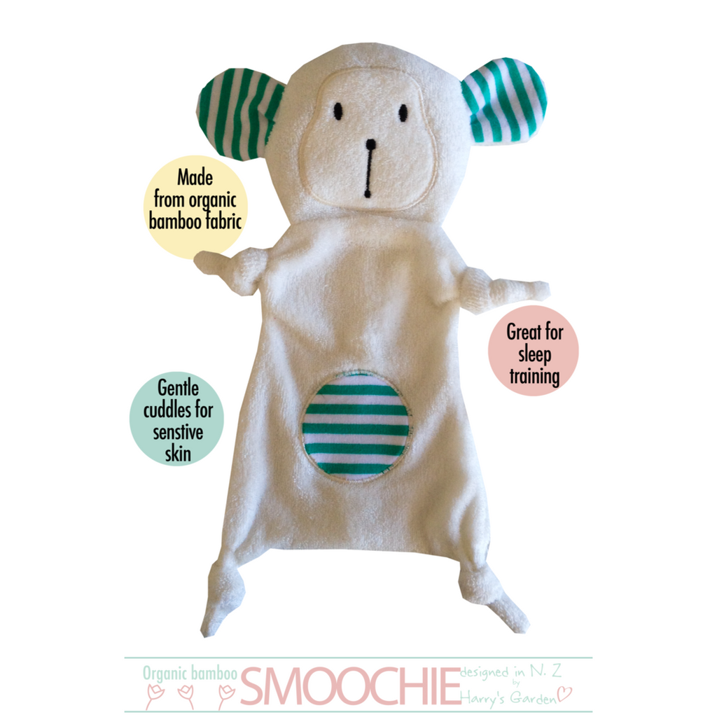 Harry Monkey Organic Bamboo Smoochie - Little Baby
