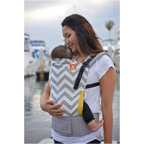 Gray Zig Zag - Tula Baby Carrier (Standard) - Little Baby