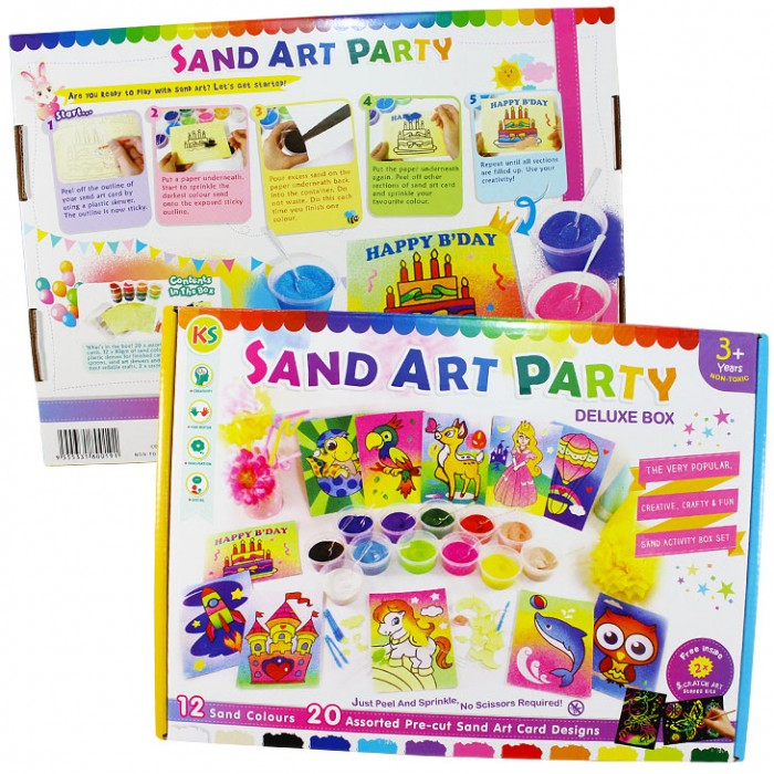 Step 2 Sand Art Party Pack