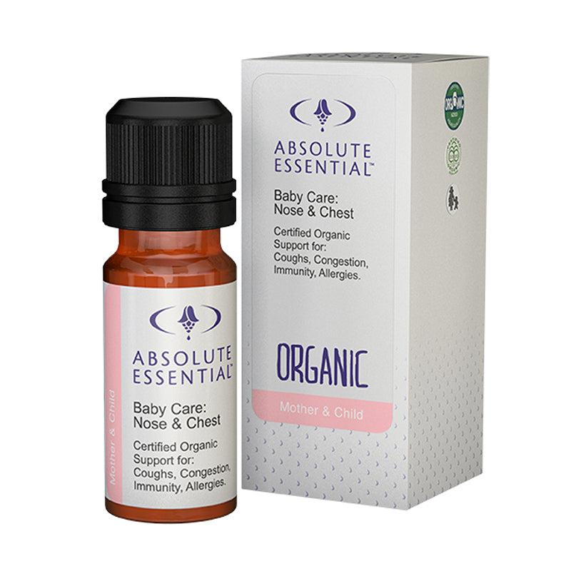 ABSOLUTE ESSENTIAL BABY CARE NOSE & CHEST ORGANIC - 10ML