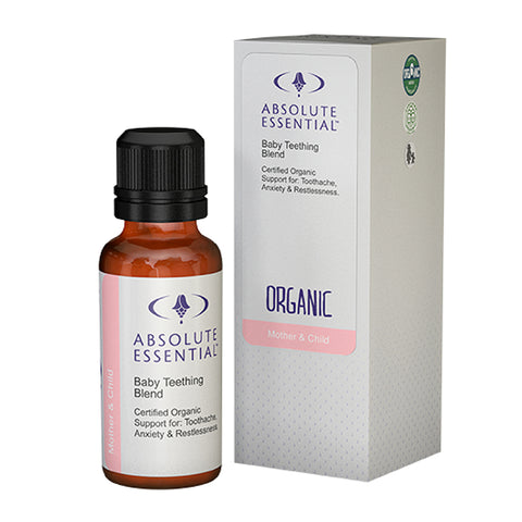 ABSOLUTE ESSENTIAL BABY OIL TEETHING BLEND ORGANIC - 25ML