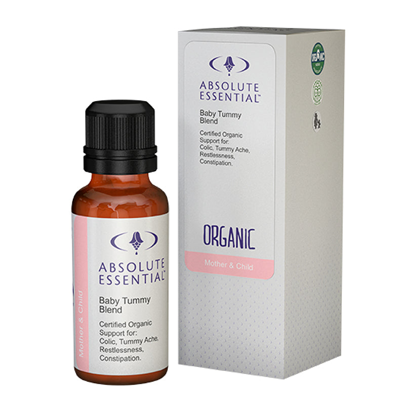 ABSOLUTE ESSENTIAL BABY OIL TUMMY BLEND ORGANIC - 25ML