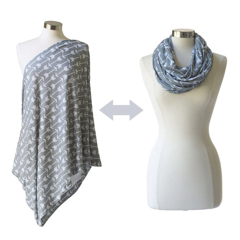 Itzy Ritzy Nursing Happens™ Infinity Breastfeeding Scarf - Swift Arrows