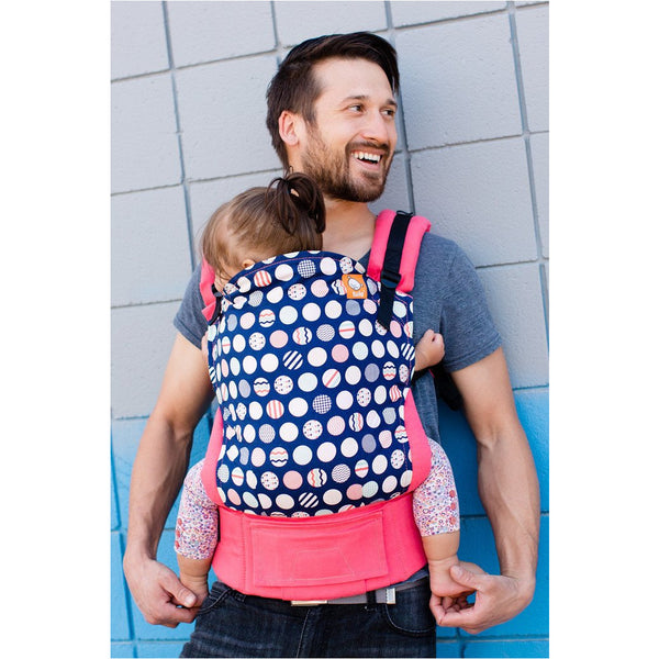 Trendsetter Coral - Tula Baby Carrier (Standard) - Little Baby