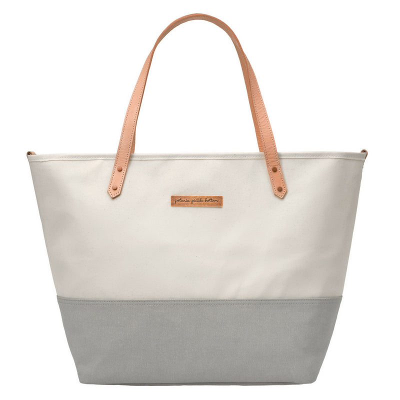 Petunia Pickle Bottom Downtown Tote Diaper Bag: Birch/Stone
