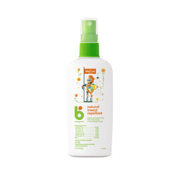 Babyganics Natural Insect Repellent - 177ml