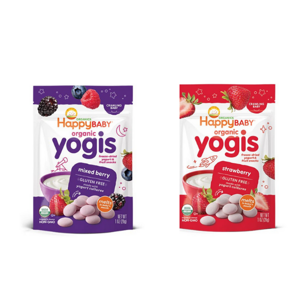 [Bundle Pack] Happy Family Happy Baby Organic Yogis (Pack of 2)