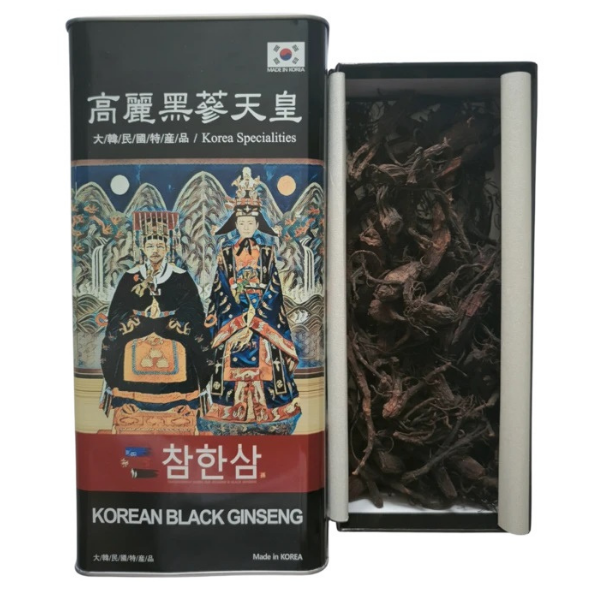 Chamhansam Whole Korean Black Ginseng - Small Size (150g)