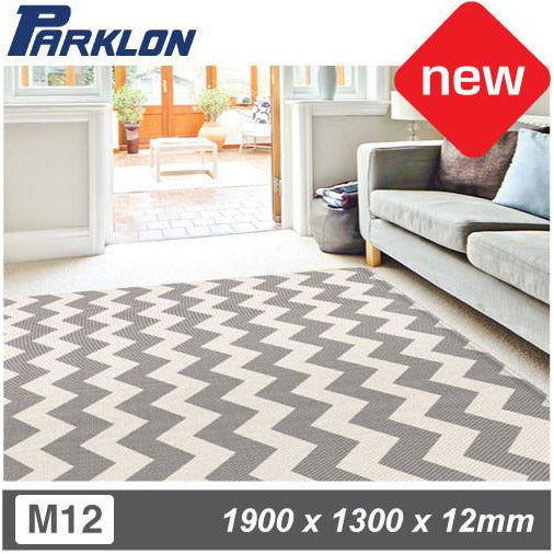 Parklon Playmat - URBAN ZIG ZAG (SIZE M12) - Little Baby