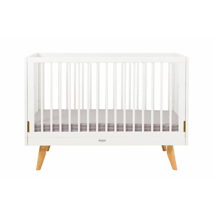 The Nordic Style Baby Cot - White 130x70cm