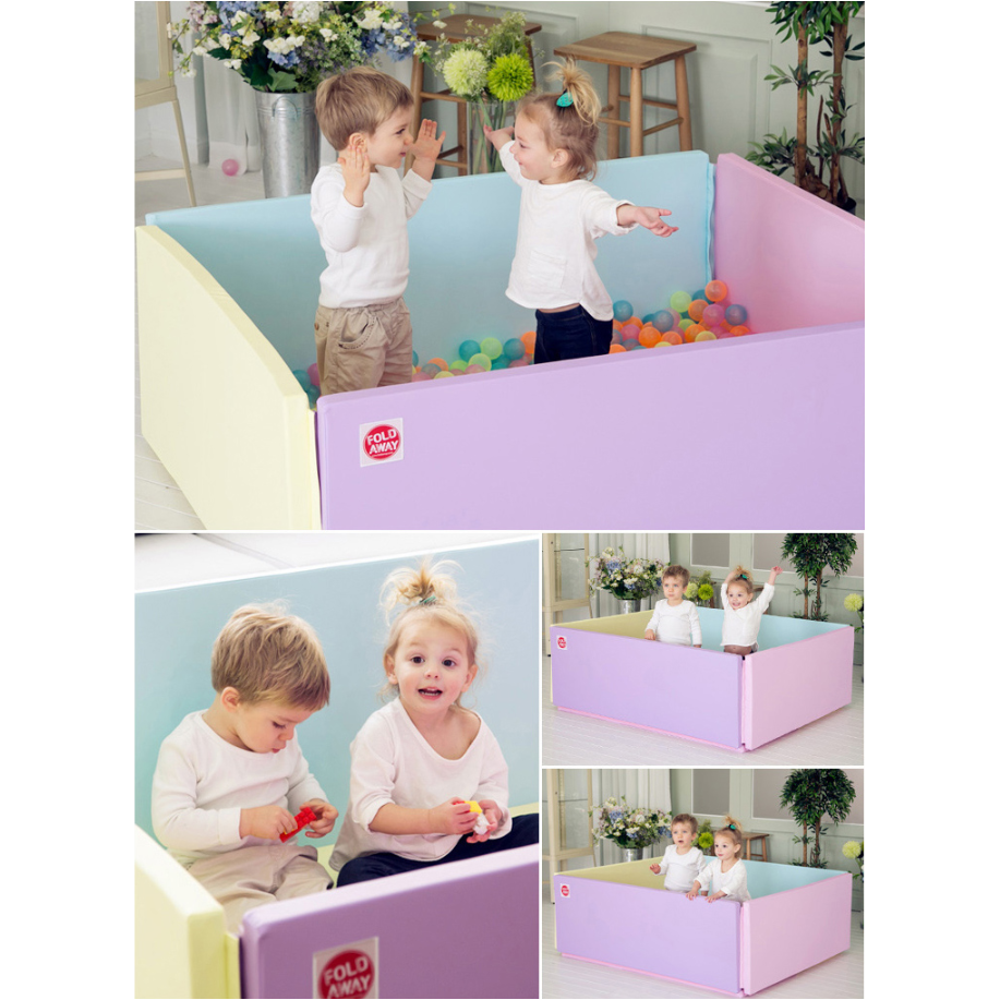 Foldaway Bumper Mat - Grand (G) - Vitamin - Little Baby