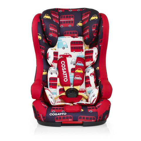Cosatto Hubbub ISO-FIX Group 123 Car Seat - Hustle Bustle
