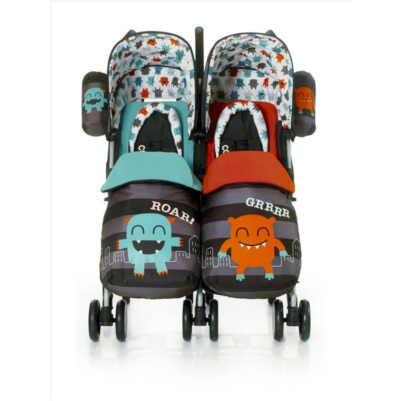 Cosatto Supa Dupa Twin Stroller - Cuddle Monster - Little Baby