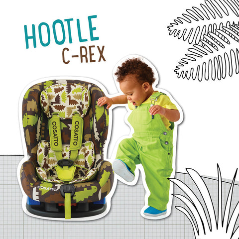 Cosatto Hootle Group 0+/1 Car Seat - CRex