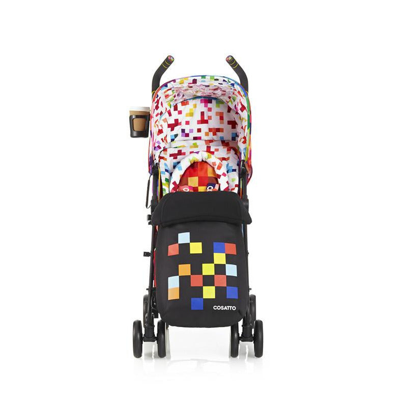 Cosatto Supa Pushchair - Pixelate - Little Baby Singapore - 1