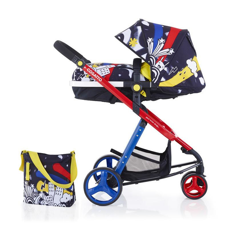Cosatto Woop Travel System - Old Skool - Little Baby