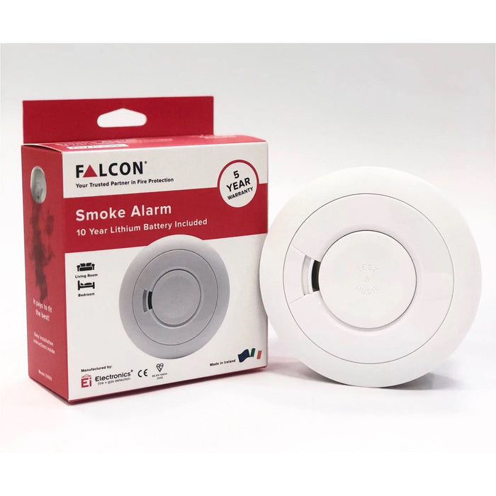 FALCON Optical Smoke Detector 10 Years Lithium Battery (Model: Ei650)