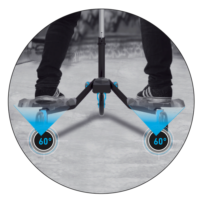 SkiScooter Z5 - Blue