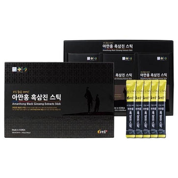 Chamhansam Amanhong Black Ginseng Extract Sticks (10ml x 30 sachets)