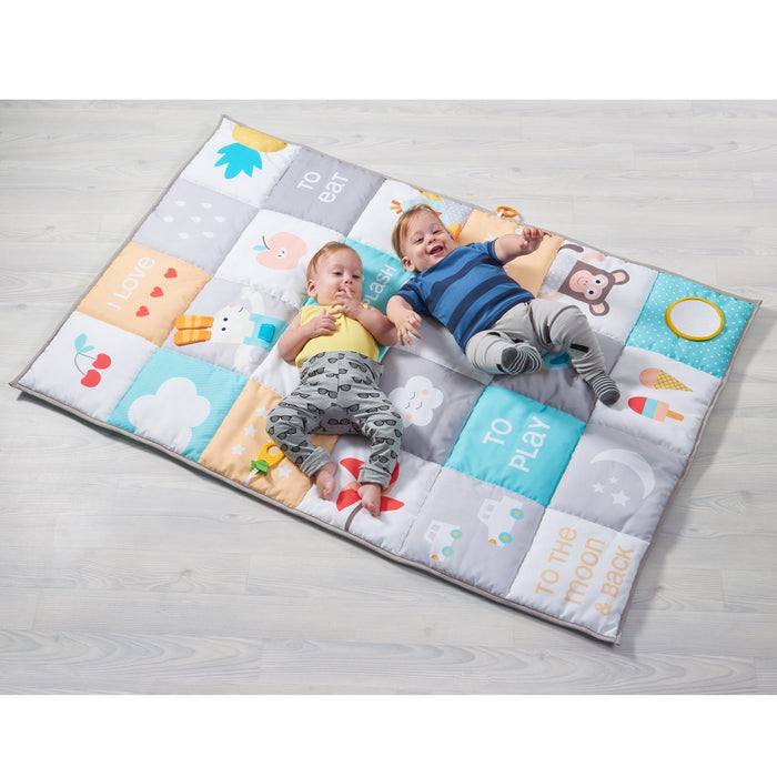Activity Mats - Taf Toys I Love Big Mat - Soft Colors