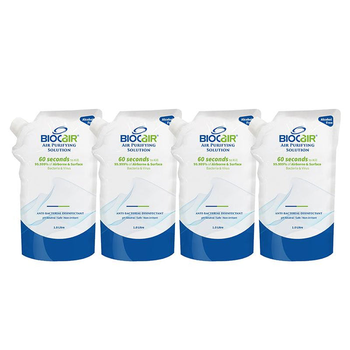 Air Purifying Solution - BioCair 4 Pack Bundle Air Purifying Solution