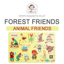 Momsboard Magnetic Animal Friends – Forest (Opp)