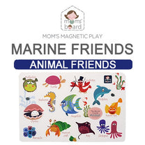 Momsboard Magnetic Animal Friends – Marine (Opp)