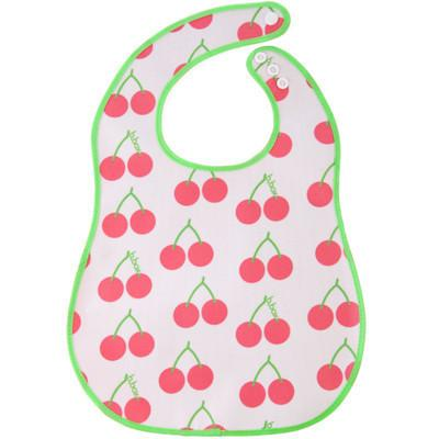 Baby Bib - B.Box Baby Flat Bib - Cherry Delight