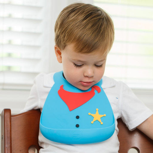 Baby Bib - Make My Day Bib - Sheriff