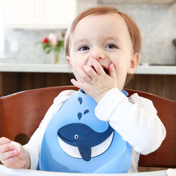 Baby Bib - Make My Day Bib - Whale