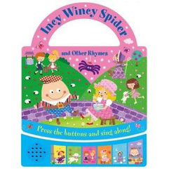 Baby Books - Carry Fun Sounds: Incy Wincey Spider And Other Nursery Rhymes