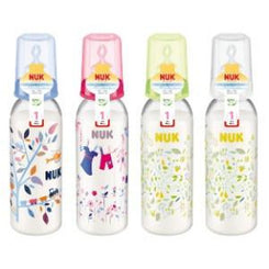 Baby Bottle - NUK Classic Printed Polypropylene Bottle 240ml