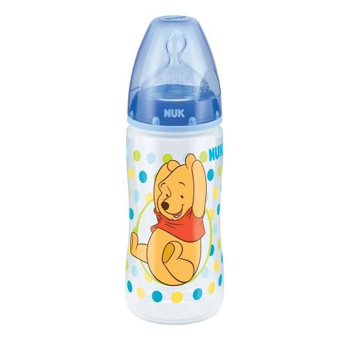 Baby Bottle - NUK Disney Baby Winnie The Pooh 300ml PP Bottle - Blue (0-6mths)