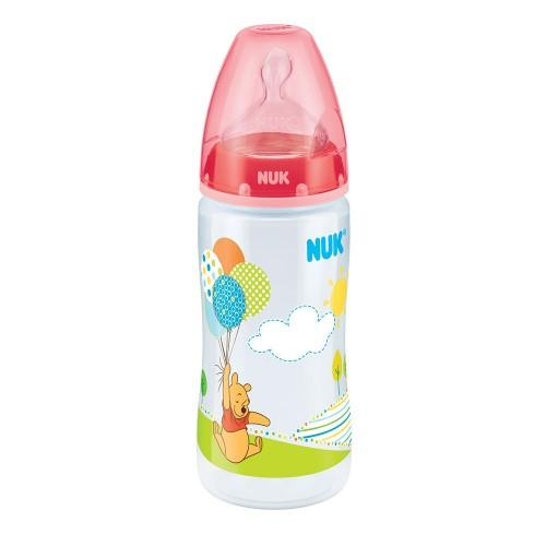 Baby Bottle - NUK Disney Baby Winnie The Pooh 300ml PP Bottle - Pink (0-6mths)