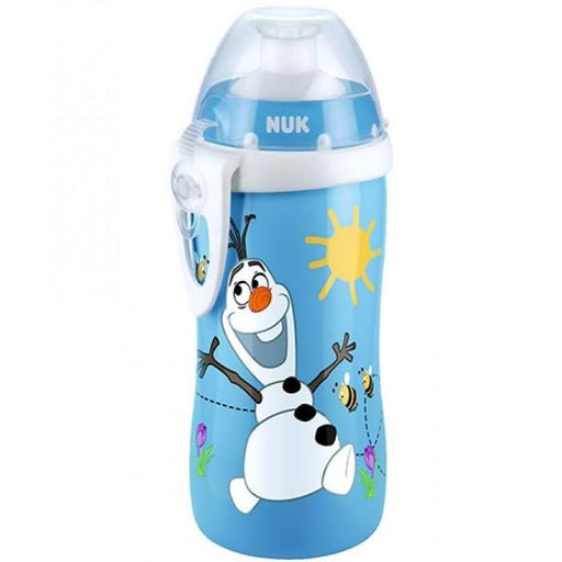 Baby Bottle - NUK Frozen Disney Olaf Junior Push Pull Cup