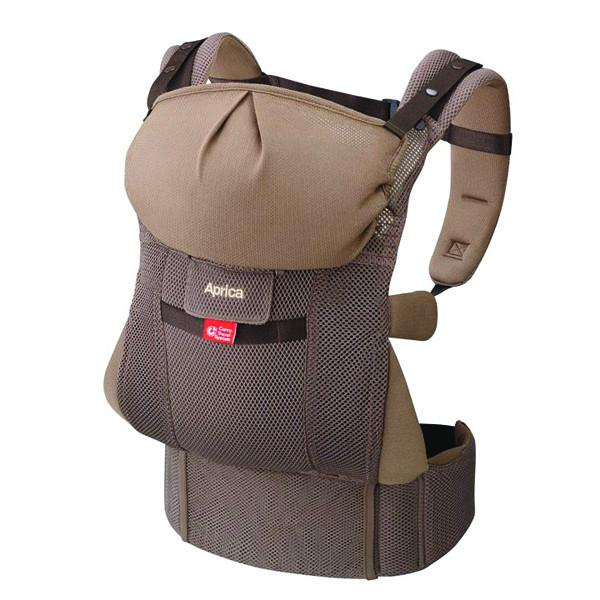 Baby Carrier - Aprica Baby Carrier - Brown