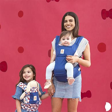 Baby Carrier - Ergobaby Original Hip Seat Hello Kitty Limited Edition - Classic Kitty