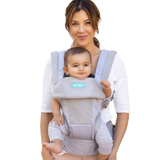 Baby Carrier - MOBY Move 4 Position Carrier - Glacier Grey