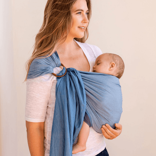 Baby Carrier - MOBY Sling - 100% Cotton: Chambray