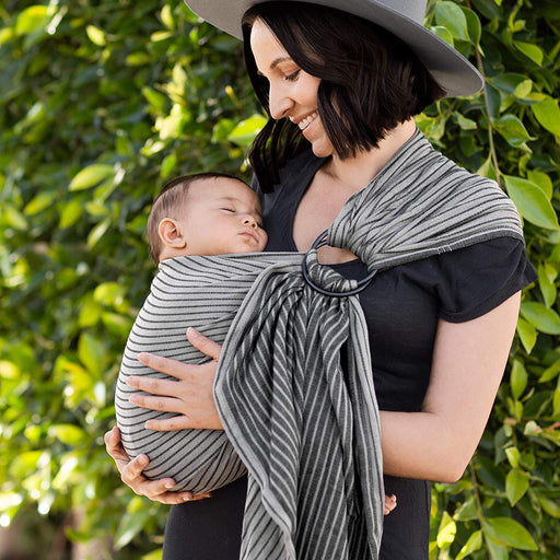 Baby Carrier - MOBY Sling - Jet Ribbons