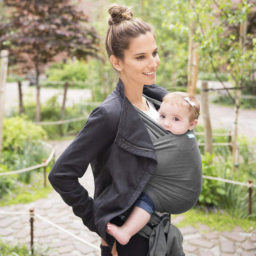 Baby Carrier - MOBY Wrap Evolution - Charcoal