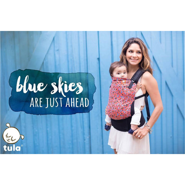 Baby Carrier - Poppy Sky - Tula Baby Carrier (Standard)